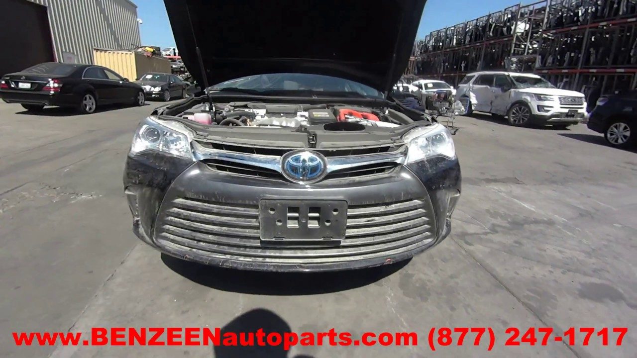 2017 Toyota Camry Hybrid Parts For 1 Year Warranty