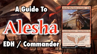 mtg a guide to alesha who smiles at death commander edh for magic the gathering