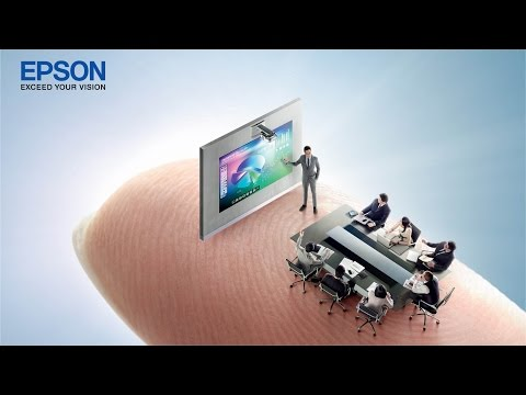 Epson EB-595Wi Finger Touch Interactive Projector