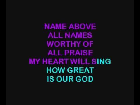 KARAOKE - Chris Tomlin - How Great Is Our God