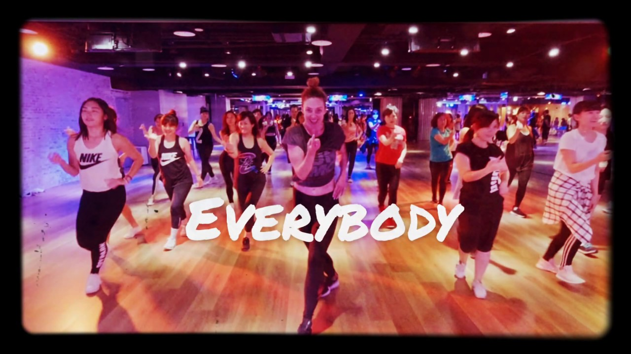 Everybody by Martin Sloveig ~~ Fit + Flaunt Burlesque Fitness by KATIE
