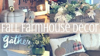 FALL DECOR HOUSE TOUR 2018🍂