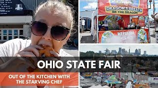 DRAGONS 🐉 BREATH AT THE OHIO STATE FAIR | Out of the Kitchen | The Starving Chef
