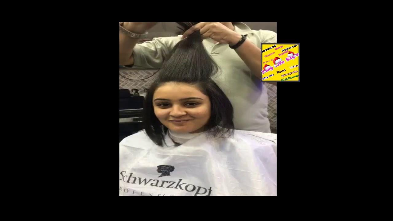 Beautiful Indian Girl Bob Haircut Youtube