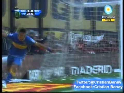 Boca 2 River 0 (Relato Pancho Caldiero) Clausura 2011  Los goles