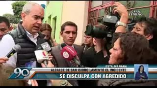 San Isidro: alcalde pidió disculpas a hombre agredido por serenos