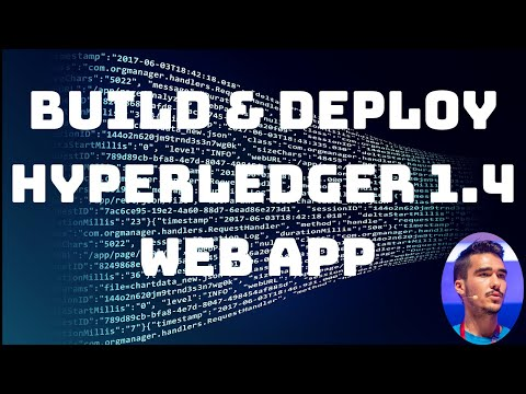 Deploy a blockchain web-app with Hyperledger Fabric 1.4 - Co