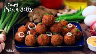 Crispy Prawn Balls   Prawn Recipe   Seafood