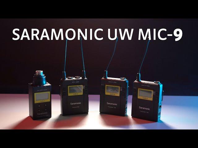 Reseña micrófonos inalámbricos Saramonic UW Mic-9