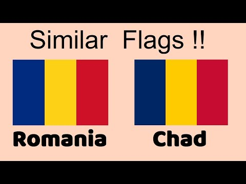 Country Flags Almost Identical (Part 1)