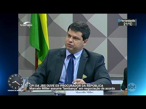 Ex-procurador comenta participação no acordo de delação da JBS | SBT Brasil (29/11/17)