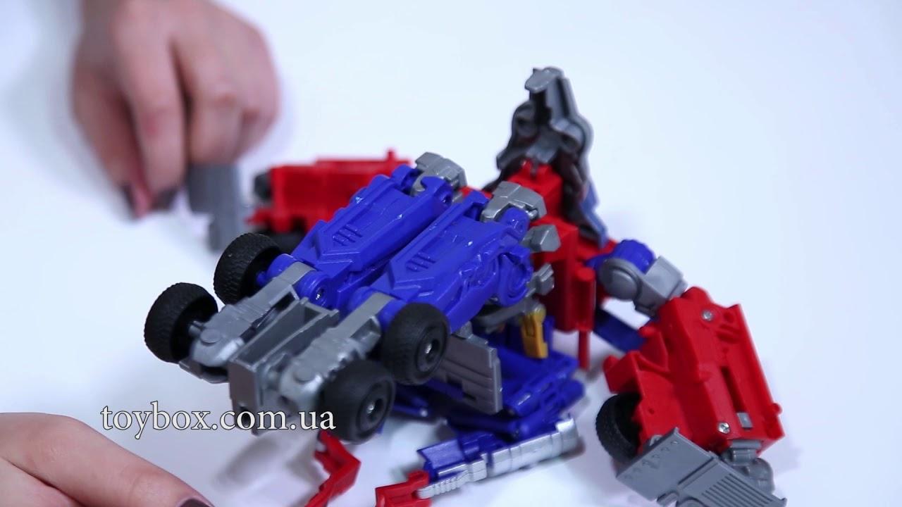 Трансформер Оптимус Прайм: игрушки для мальчиков - YouTube