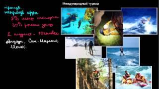 видео международный туризм как форма международных