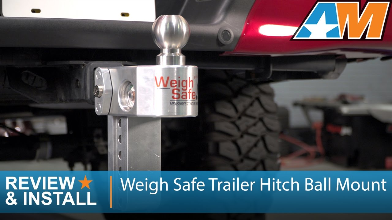 How Much Does A Ford F150 Weigh >> 1997 2017 Ford F 150 Weigh Safe Trailer Hitch Ball Mount 6 Drop Review Install