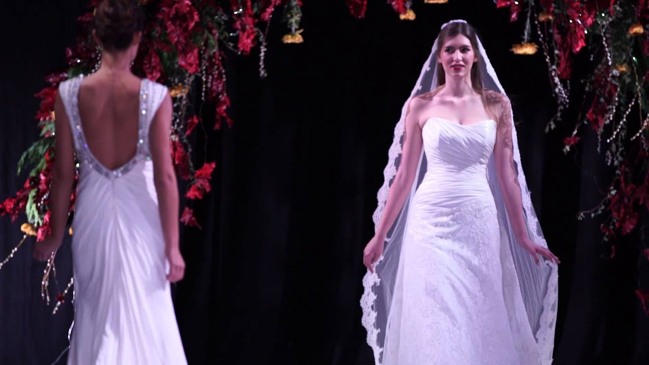 Kavelle Couture Catwalk - The Scottish Wedding Show - YouTube
