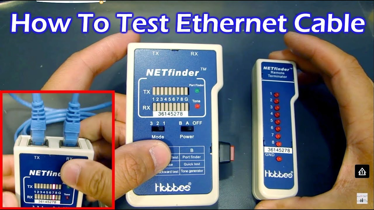 how to test your ethernet cable [ 1280 x 720 Pixel ]