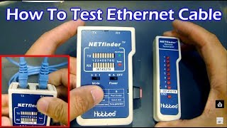how to test your cat5 ethernet cable
