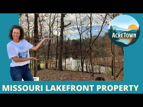 Land For Sale In Missouri | 12 Acres with Lake | All Utilities Available