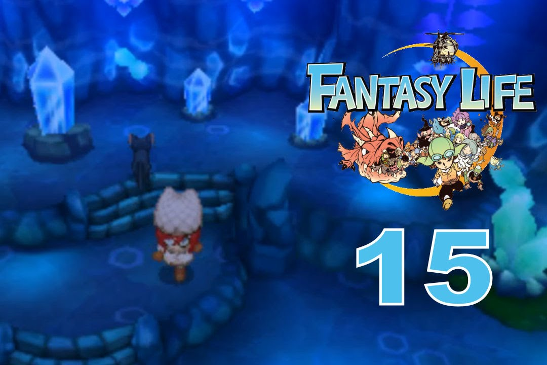 how to get to the waterfall cave fantasy life