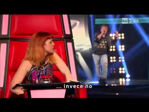 The Voice of Italy 2014 - Steven Patrick Piu (Blind Audition)