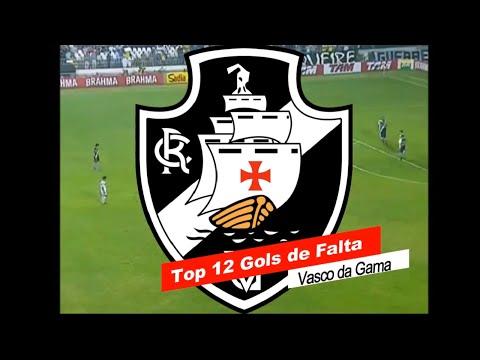 TOP 12 - Golaços de Falta do Vasco da Gama