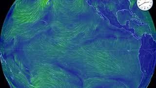 世界の風 エルニーニョ現象発生 11月9日14時発表