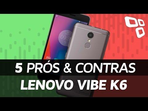 Lenovo Vibe K6: 5 prós e contras em relação aos concorrentes - TecMundo