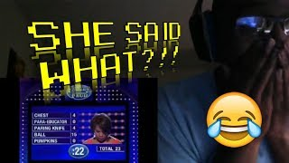Family Feud FUNNY Steve Harvey Compilation! REACTION!!! (2000th video!!)