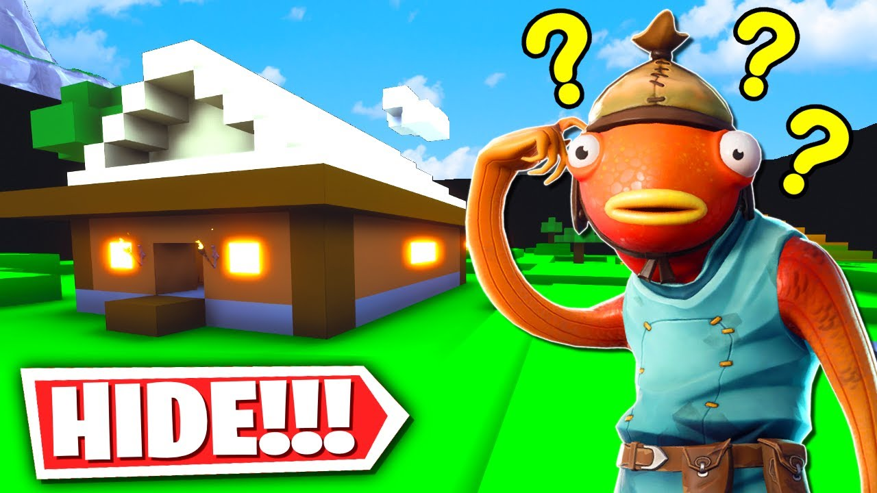 Fortnite Hide and Seek Secret Minecraft Map! (Fortnite ...