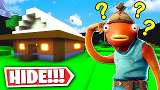 Fortnite Hide and Seek Secret Minecraft Map! (Fortnite Creative Mode)