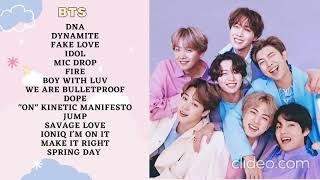 BTS Playlist / BTS BEST SONG / Kumpulan Lagu BTS ( Powerfull Songs for motivation of BTS)