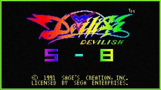 SEGA GAME GEAR: DEVILISH Lv 5 - 8