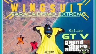 GTA 5 Online Wingsuit