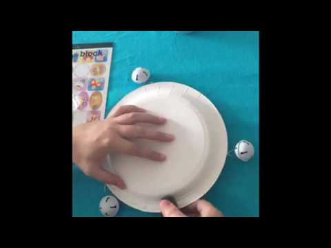 how to make a tambourine kids crafts youtube