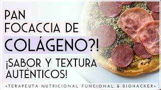 CÓMO HACER PAN DE COLÁGENO LOW CARB SIN GLUTEN   Recetas Saludables de Terapeuta Nutricional