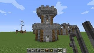 Minecraft How To Build Medieval Archer Tower By XxCreativeDwarfxX