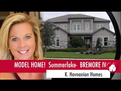 New Homes Winter Garden Florida Bremore Iv Model Home By