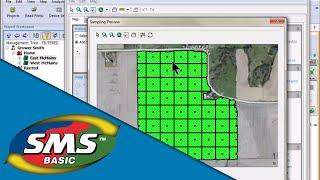SMS-Erstellen von Bodenproben-Punkte