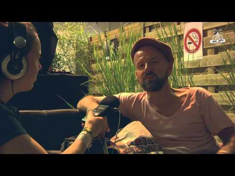 Shantel interview at Radio United on Dour festival 2014