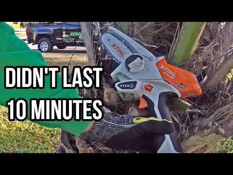 How Long Does The STIHL GTA 26 Battery Last? (Not Very)