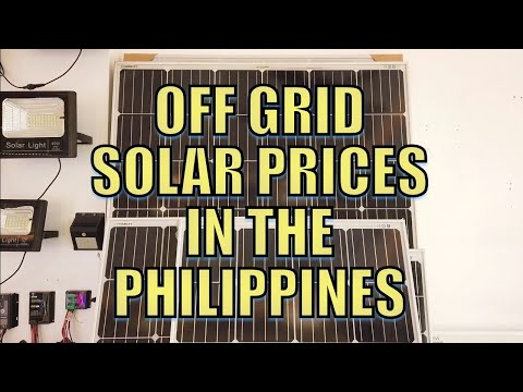 Off Grid Solar Prices In The Philippines.