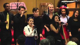 """""""All I Want For Christmas""""   performed by OSA  Encore and Vocal Rush"""