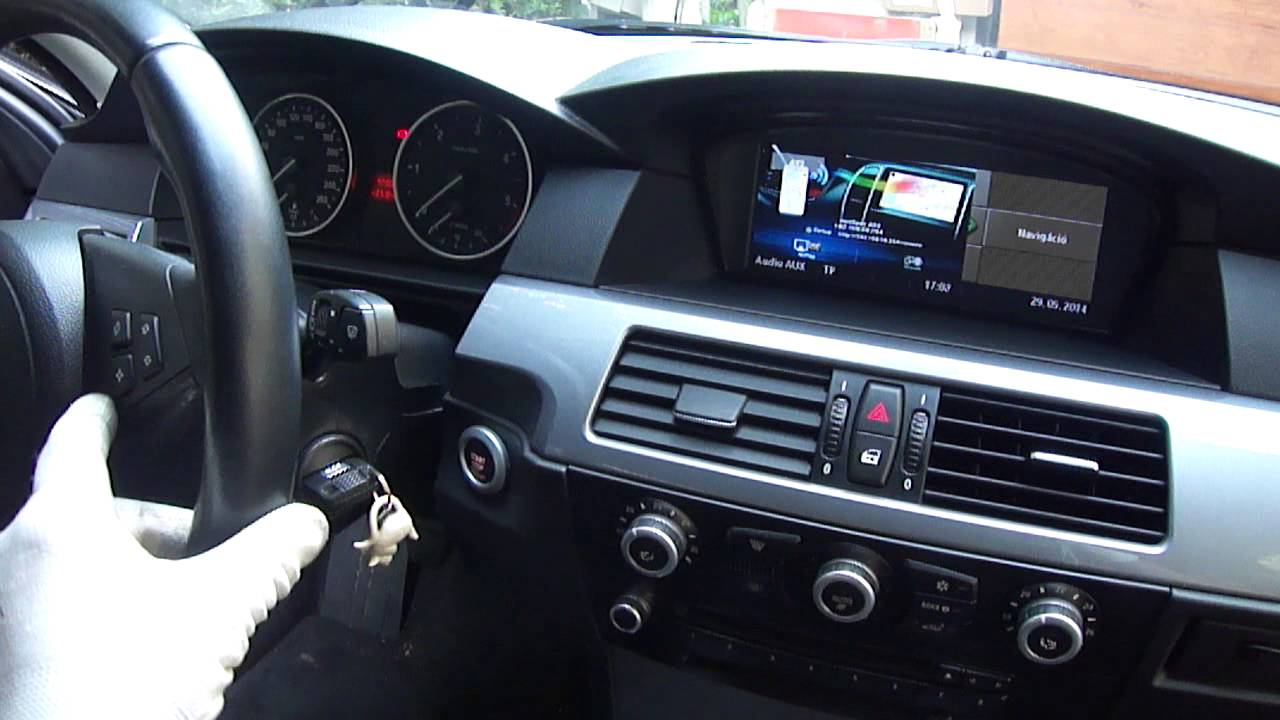 Bmw ccc e60 e90 dvb t tuner smartphone wireless mirror link www bmwtuning hu youtube