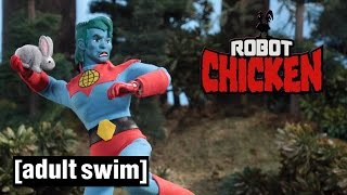 Captain Planet Gets Promoted | Robot Chicken | Adult Swim