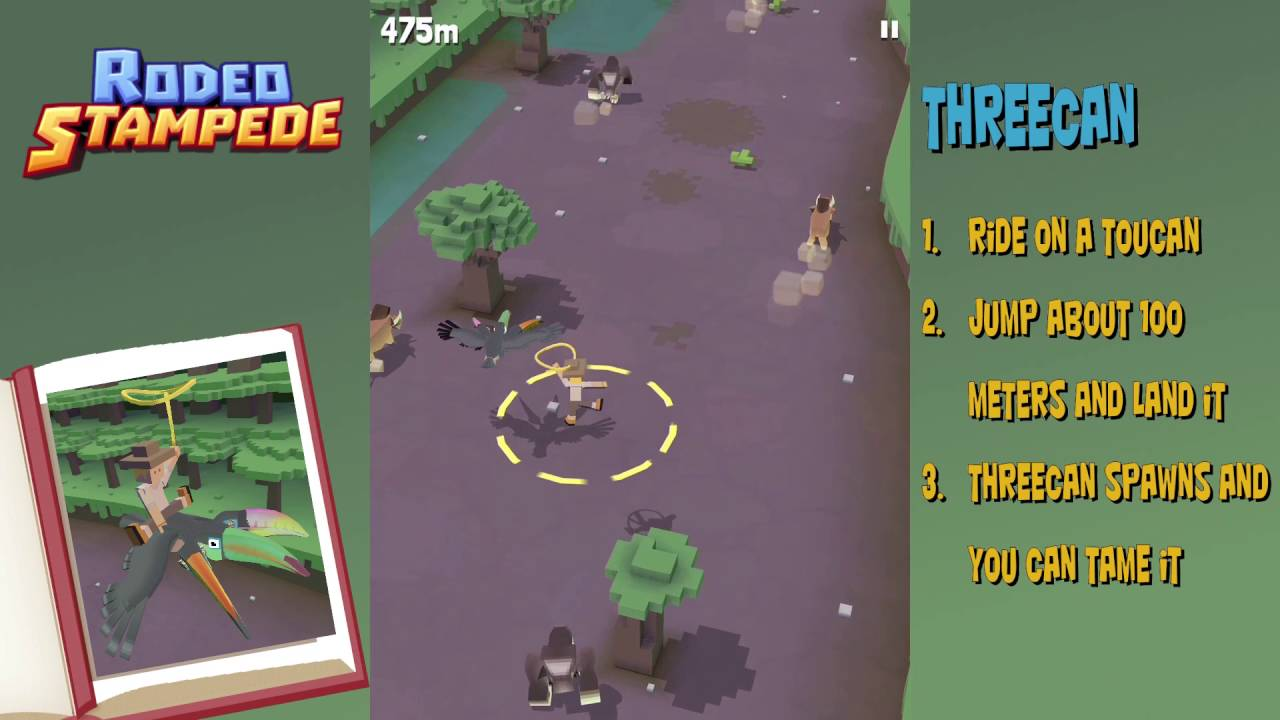 Rodeo Stampede How To Get The Threecan Secret Animals Youtube