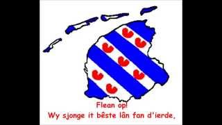 Frysk Folksliet, Fries Volkslied, Frisian Anthem + tekst (DJ Ruthfries mix 2014)