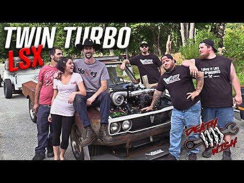 Death Wish Hilux Twin Turbo LS Swap - Deathwish EP2