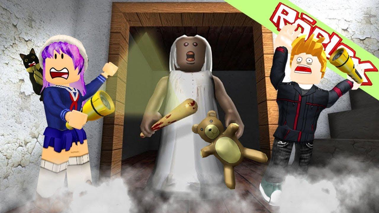 Roblox เม อค ณยายผ กลายเป นหม จะเก ดอะไรข น Playing As Peppa Roblox จะไปไหนจ ะหลานร กของยาย Granny Update Youtube