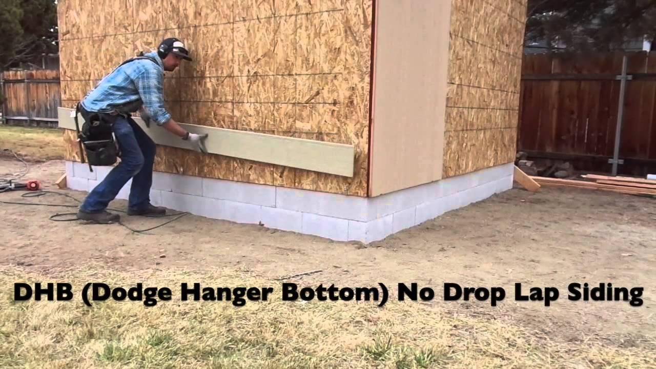 How To Install Lap Siding Youtube
