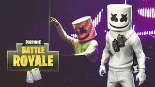 Best View of the LIVE Marshmello Concert in Fortnite! Doing Security with the John Wick Skin!